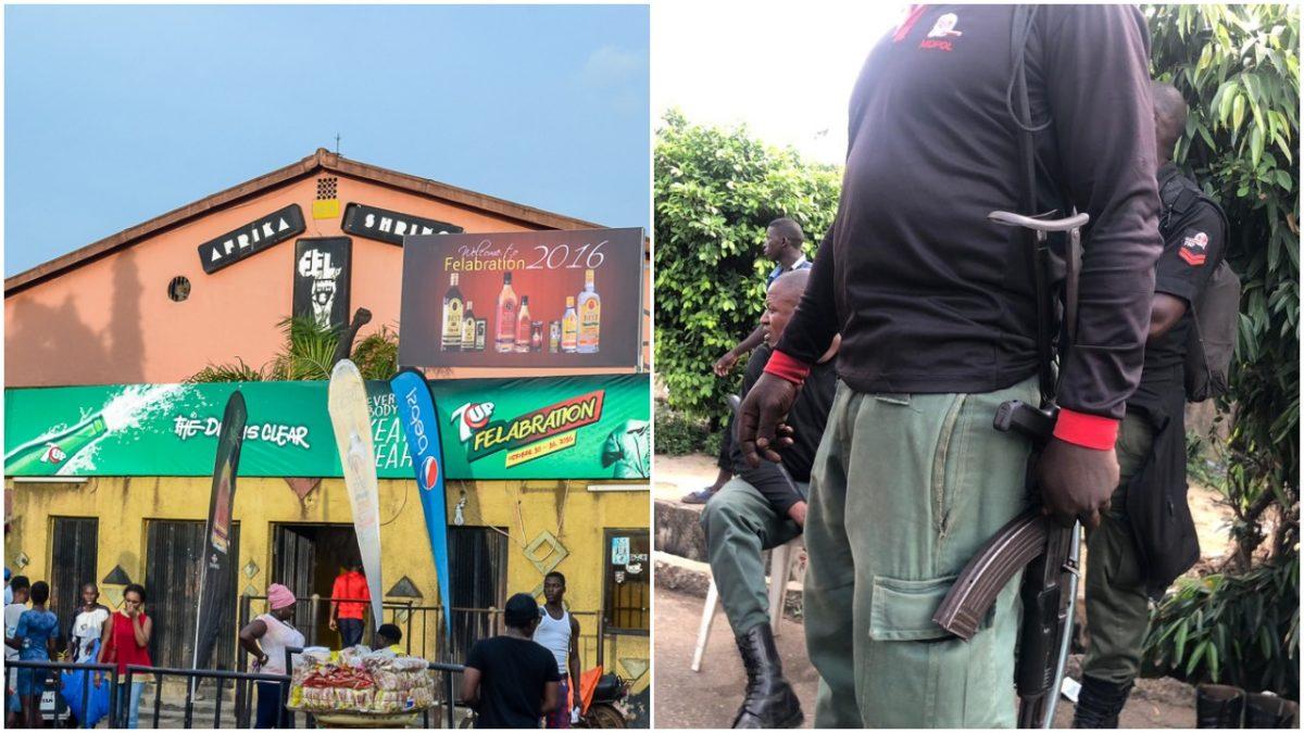 Heavily armed Policemen take over Afrika Shrine to prevent EndSARS meeting scaled