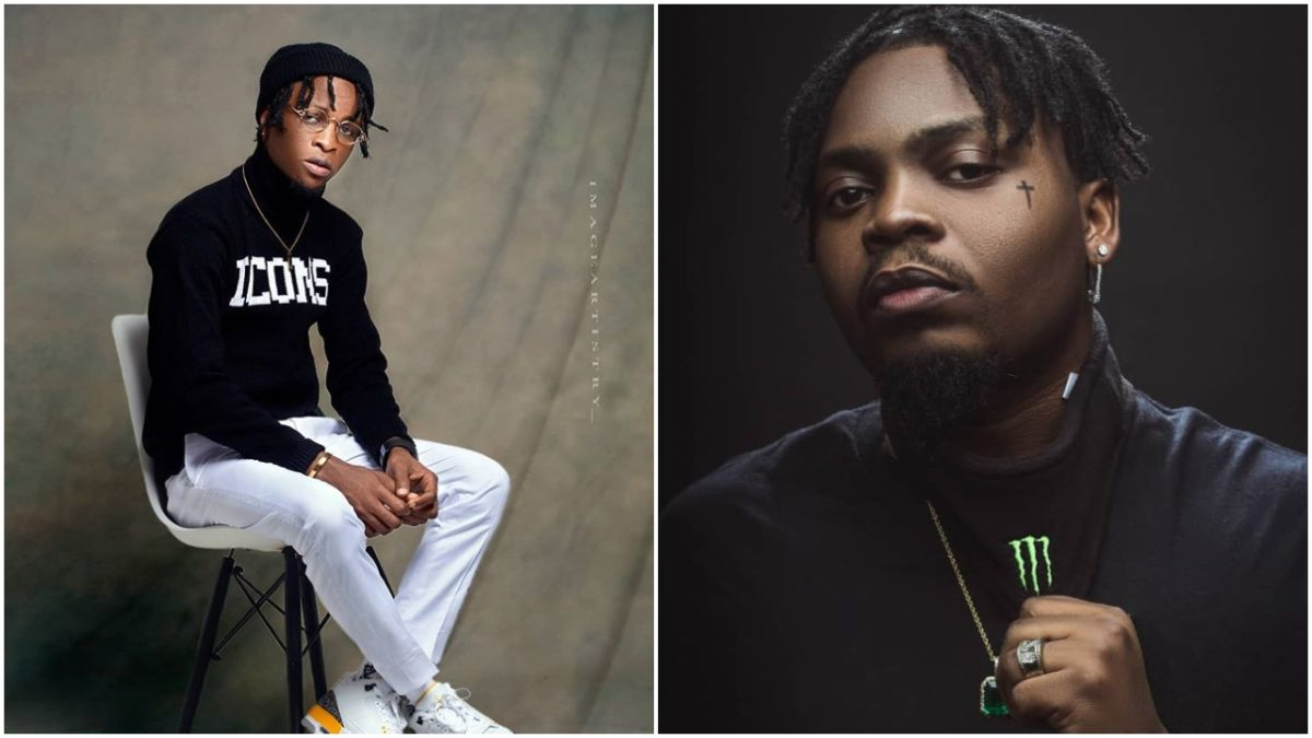 Laycon react to Olamide's post about him & Vee musical collaboration
