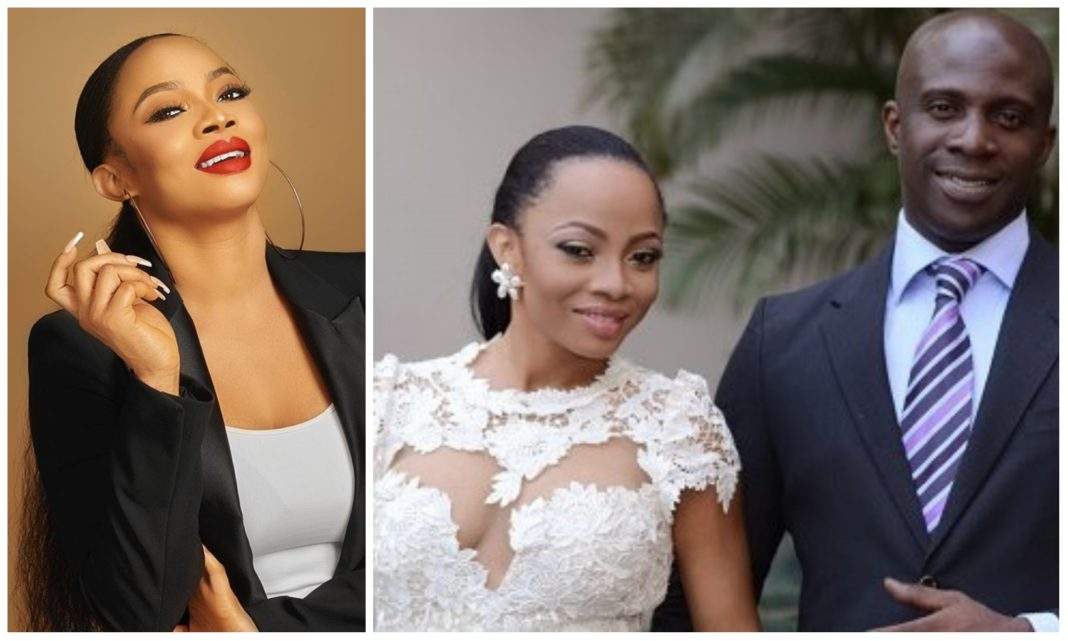 Toke Makinwa lose defamation lawsuit filed by ex hubby, Maje, fined 1M damages fee
