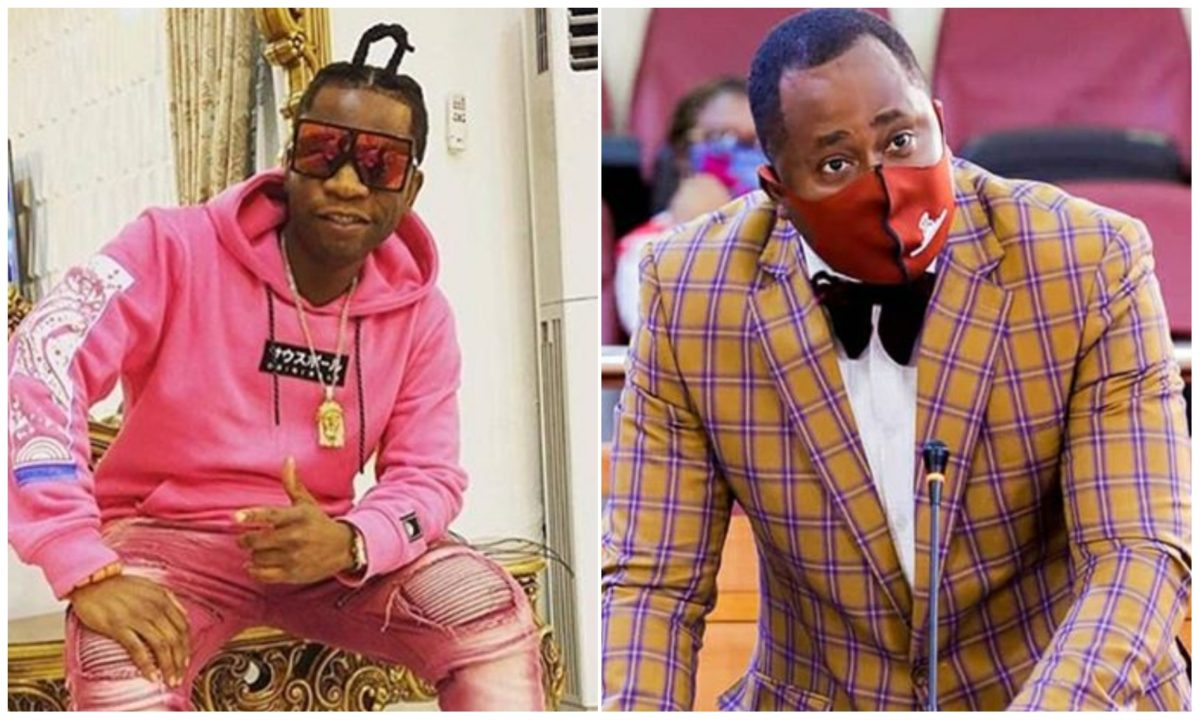 I will swallow you – Speed Darlington blast Desmond Elliot for aspiring to be the President (Video)