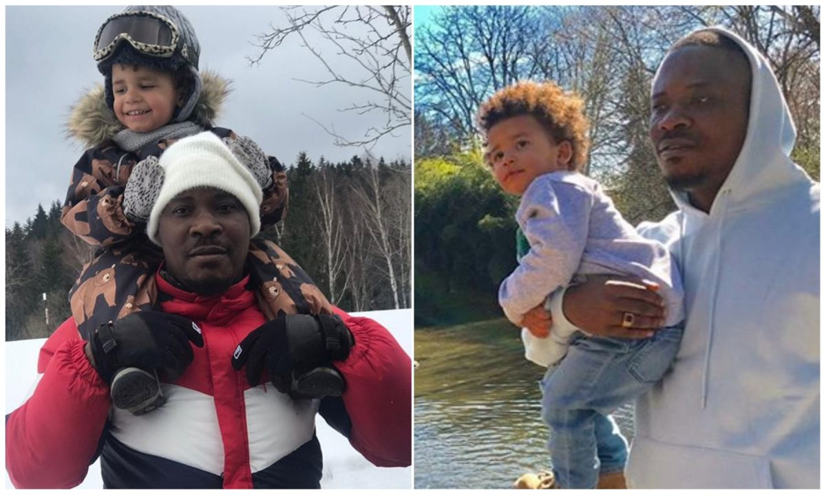 Best thing that ever happen to my life – Jaywon spends priceless time with his son (Photo)