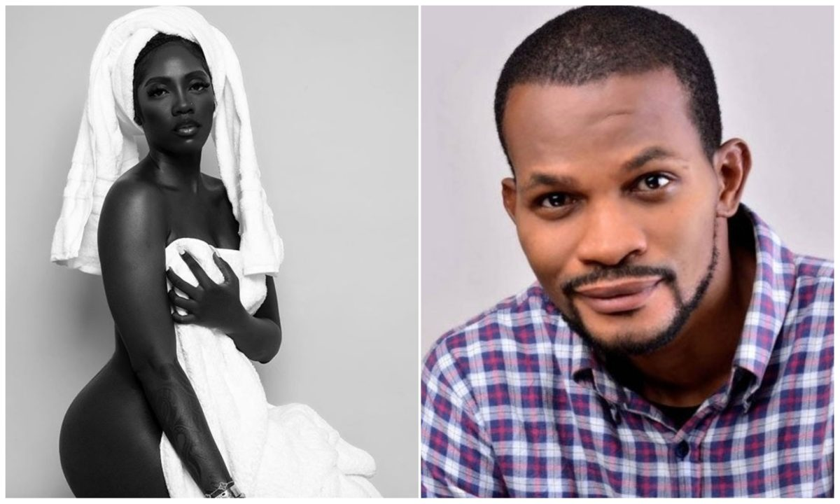 Nudity at 40 is distasteful – Actor Uche Maduagwu chides Tiwa Savage over nude pic