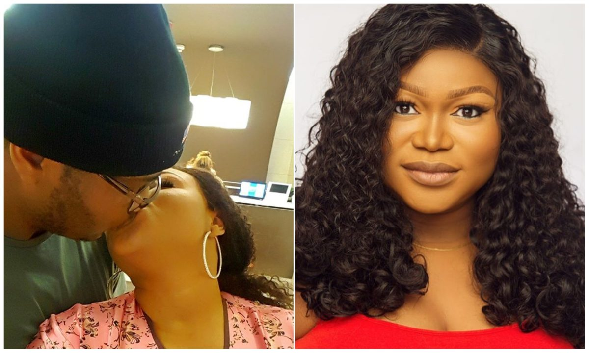 Being your wife is so peaceful – Actress Ruth Kadiri pens romantic message to hubby on their wedding anniversary