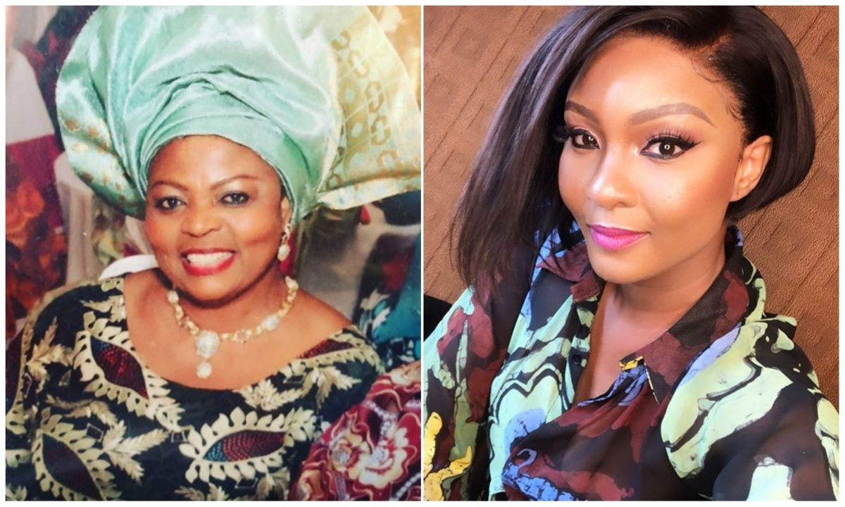Tragedy hits Nollywood as Actress Osas Ighodaro loses mom