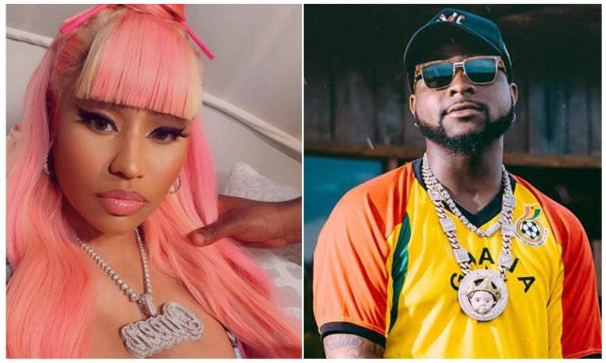 I had never met Nicki Minaj, I sent her a DM – Davido opens up on their upcoming collaboration