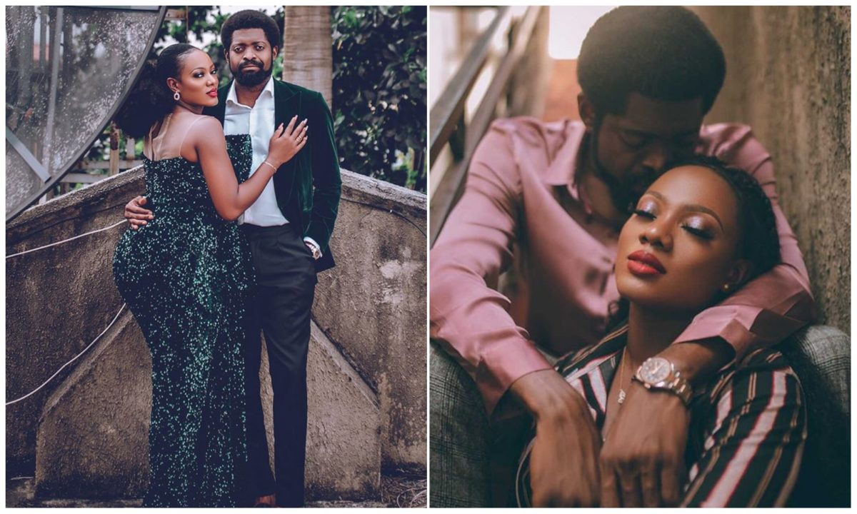 Comedian Basket Mouth and wife, Elsie, celebrates 10th year wedding anniversary (Photos)