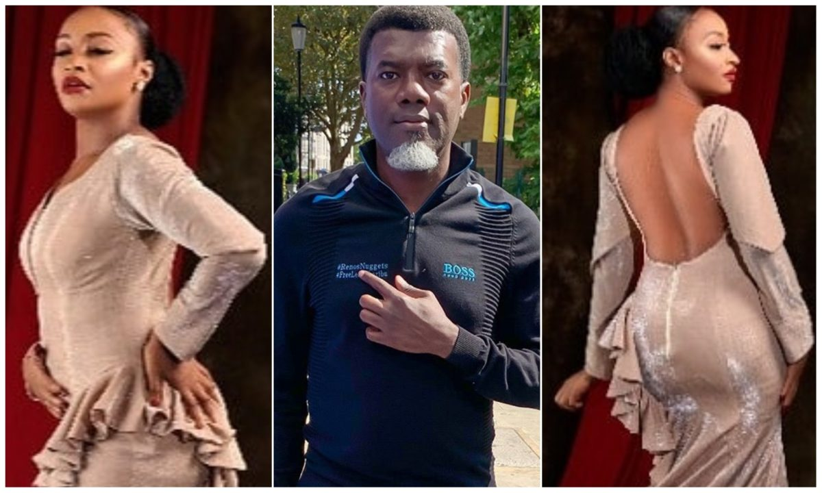 Reno Omokri slam Nigerians attacking Rahama Sadau over her backless dress