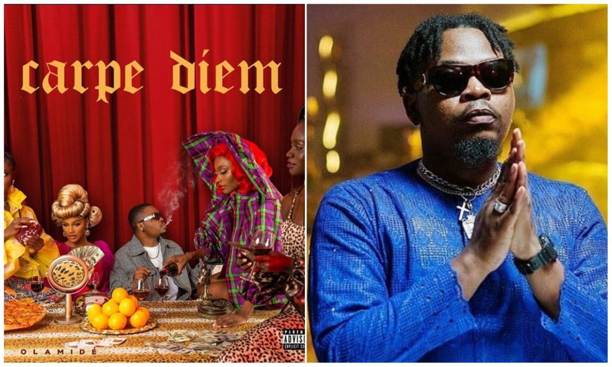 Olamide's album 'Carpe Diem' hits over 8M streams on streaming platforms in 4 weeks