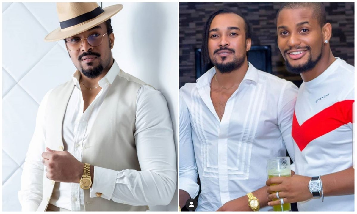 Controversies sets in as Alex Ekubo wishes Bryan Okwara on his 54th birthday