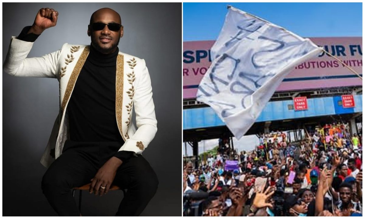 Social Media Stunt – 2Face reacts to petition levied against him over #EndSARS protest