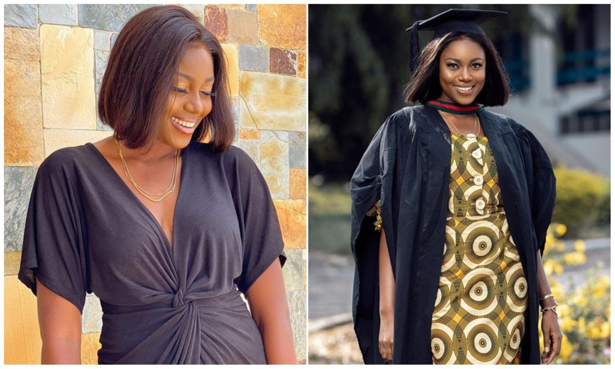 Actress Yvonne Nelson bags MASTERS DEGREE on her 35th birthday (Photo)