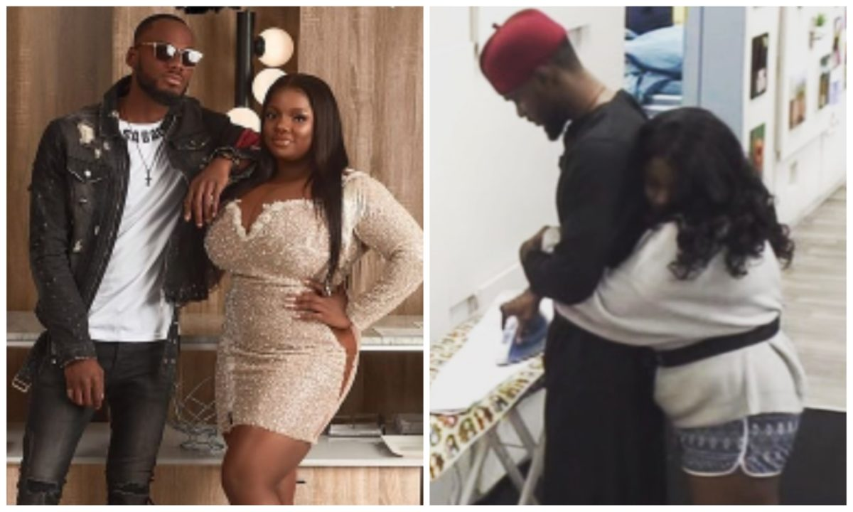#BBNaija: Drama as Lady calls out Dorathy for allegedly snatching Prince (Screenshot)