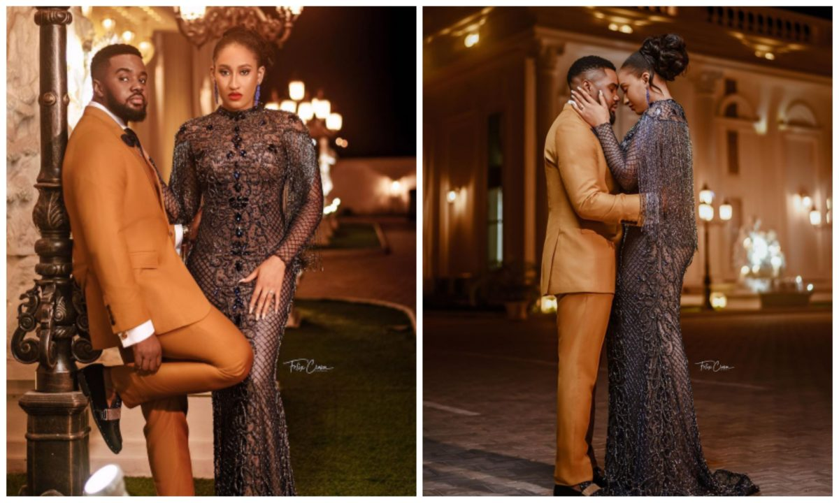 Actor Williams Uchemba announce his wedding date with adorable pre-wedding shoots with girlfriend, Oscar (Photos)