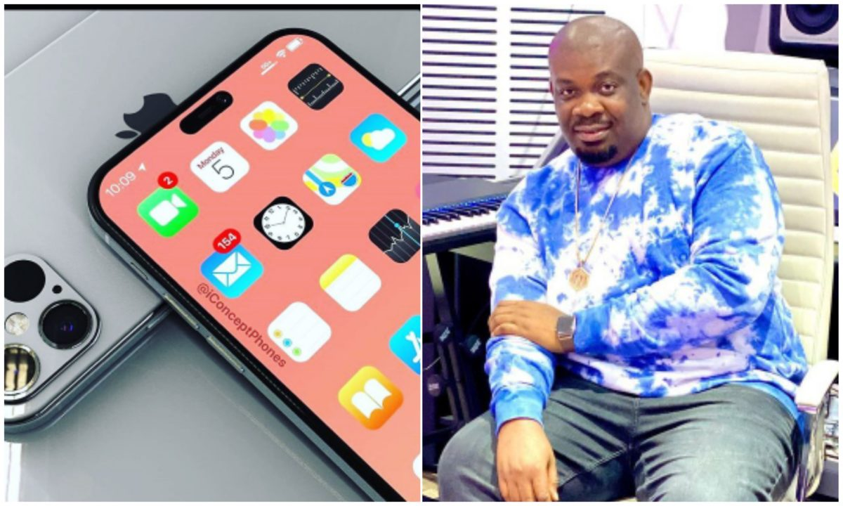 Twitter fans show Don Jazzy love, gifts him money to get an iPhone 12 Pro Max