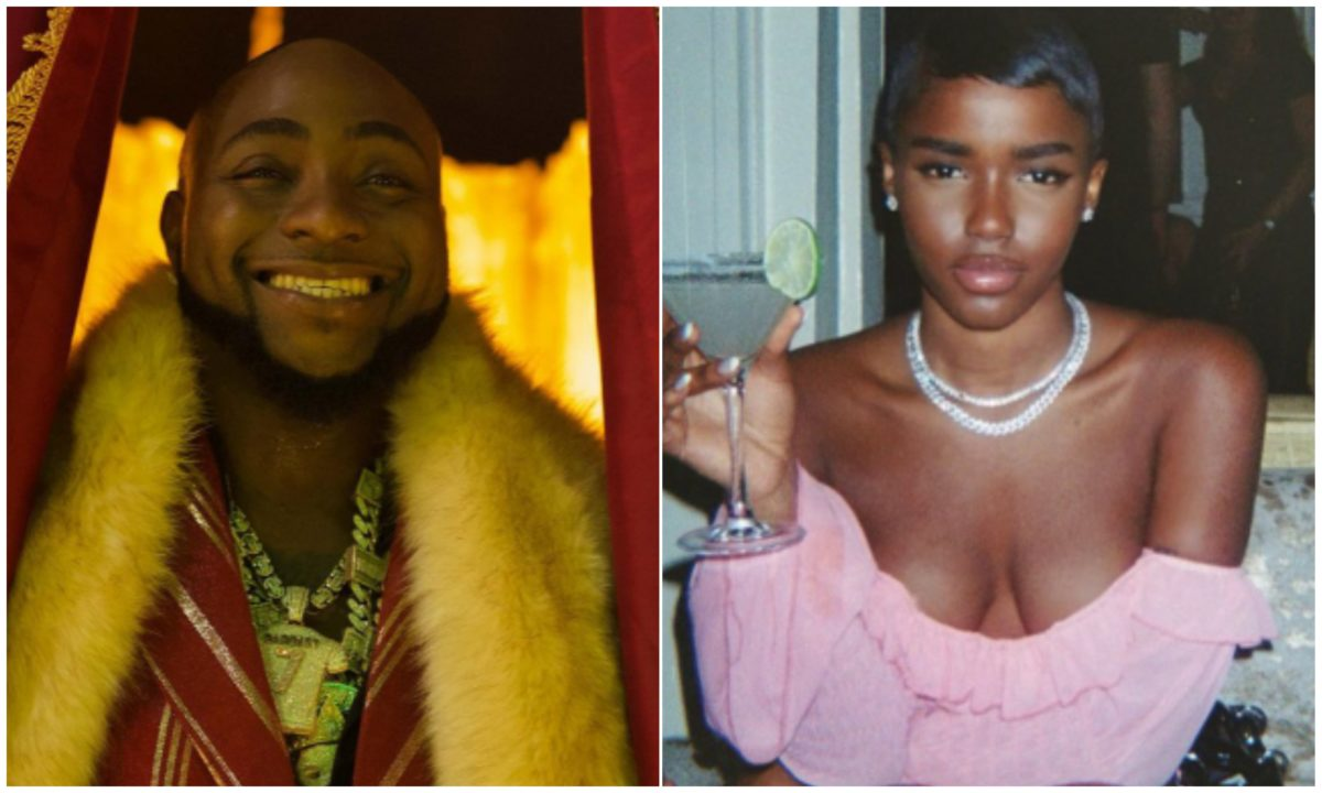 I never slept with Davido but I dated his cousin – British model, Eva clears the air concerning relationship with DMW Boss
