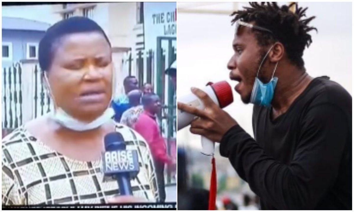EndSars: Eromosele Adene's mother finally breaks silence as court grants him bail (Video)