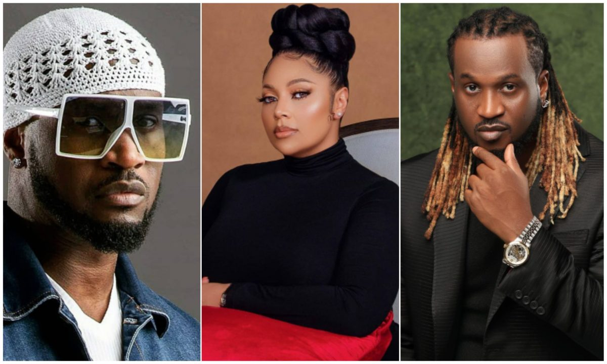 """""""Life is short"""" – Lola Omotayo urges Peter and Paul Okoye to runite as they celebrate their 39th birthday"""