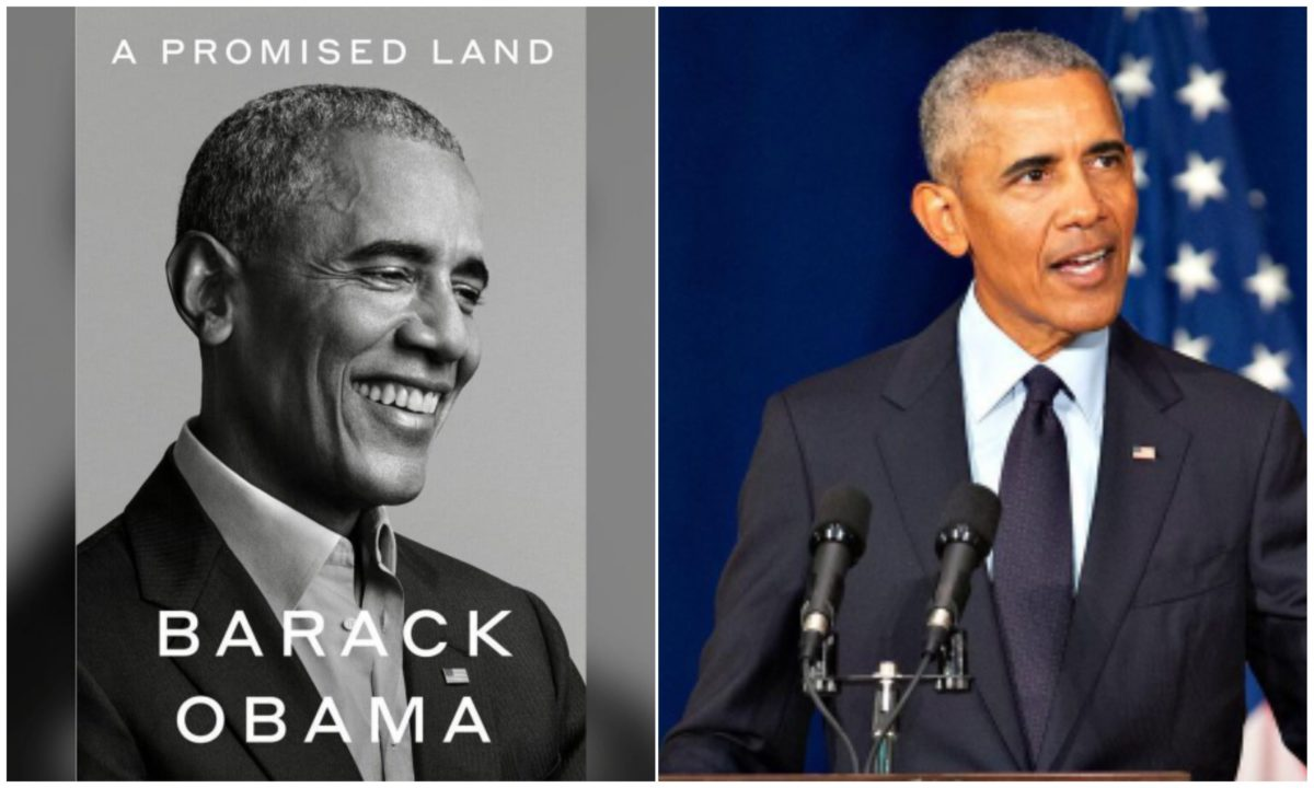 Barack Obama's new book  'A Promised Land' sells over 887,000 copies on First Day