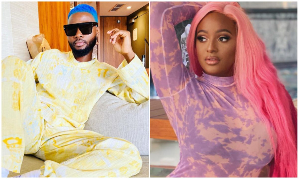 You're the one on my mind – DJ Cuppy shoots her shot at singer Wurld (Screenshot)