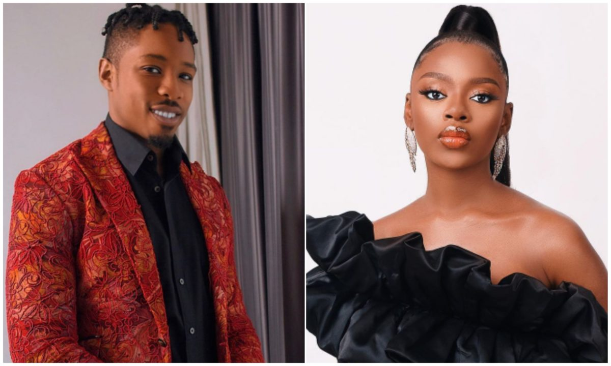 #BBNaija: Diane un-follows Ike on IG days after his breakup with Mercy (Photo)