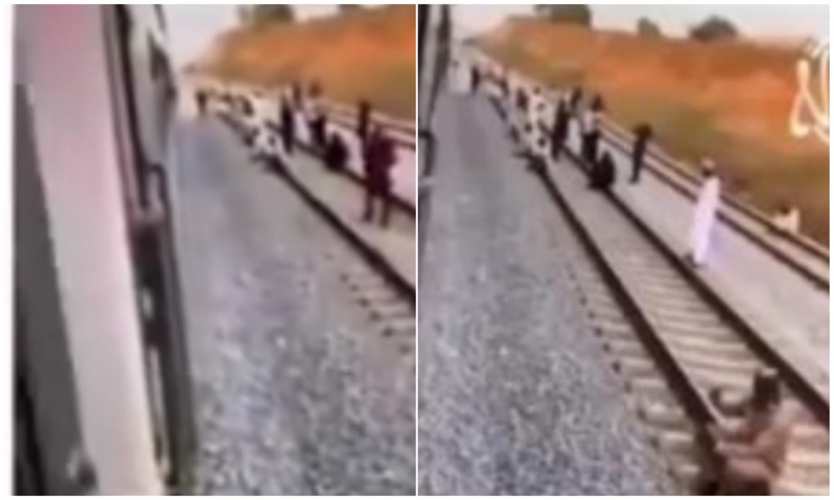 Abuja-Kaduna Train: Passengers stranded as train breaks down in the middle of nowhere (Video)