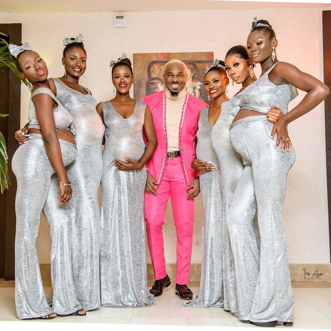 Kcee slams socialite Mike for storming Actor Uchemba's wedding with 6 pregnant women